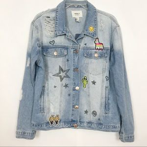 NWT | Forever 21 | Jean Jacket | Large